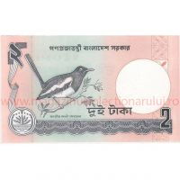 Monede si Bancnote de pe Glob Nr.15 - Bangladesh - 2 taka bengalezi