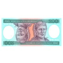 Monede si Bancnote de pe Glob Nr.134 - 200 de cruzeiros