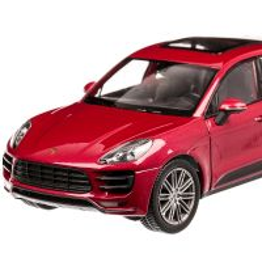 Porsche Macan Turbo 2014, scara 1:24, rosu, Welly