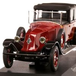 Renault 40 CV MC 1924, macheta  auto, scara 1:43, visiniu cu negru, Norev