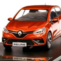 Renault Clio RS Line 2019, macheta auto, scara 1:43, portocaliu metalizat, Premium X