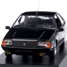 Renault FUEGO 1984, macheta auto scara 1:43, negru, Maxichamps