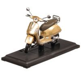 Vespa GTS 300 2017, macheta motocicleta, scara 1:18, bej metalizat, Maisto