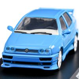 Volkswagen Jetta A3 1995, scara 1:43, albastru, GreenLight