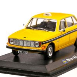 Volvo 144 Stockholm Taxi 1970, macheta Taxi scara 1:43, galben si negru, Atlas